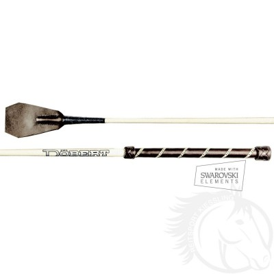 Döbert Reitstock 70 cm mit einreihigen Swarovski Elements