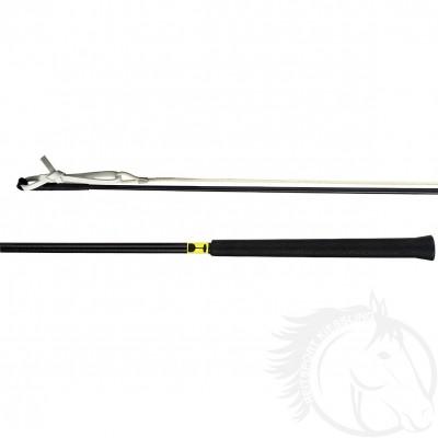Döbert Stockpeitsche schwarz mit PVC-Griff